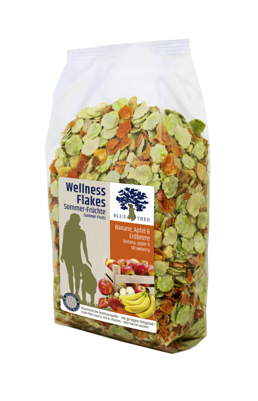 BLUE TREE Wellness Flakes Sommer-Früchte 650 g