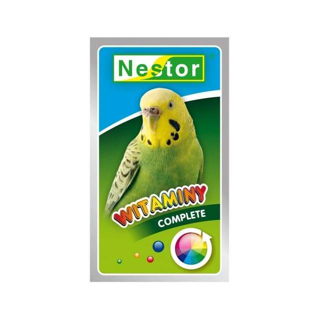 Nestor Vitamine für Wellensittiche 20 g bei Zoobio.at