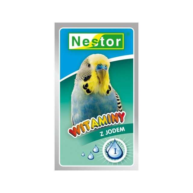 Vitamins with Iodine for Parakeets by Nestor 20 g buy online