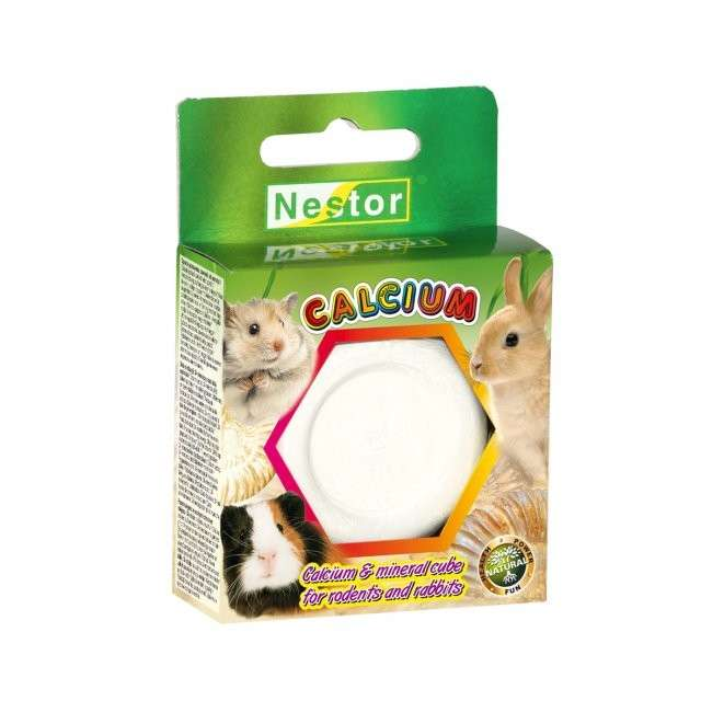 Calcium & Mineral Cube for Rodents and Rabbits by Nestor 55 g buy online