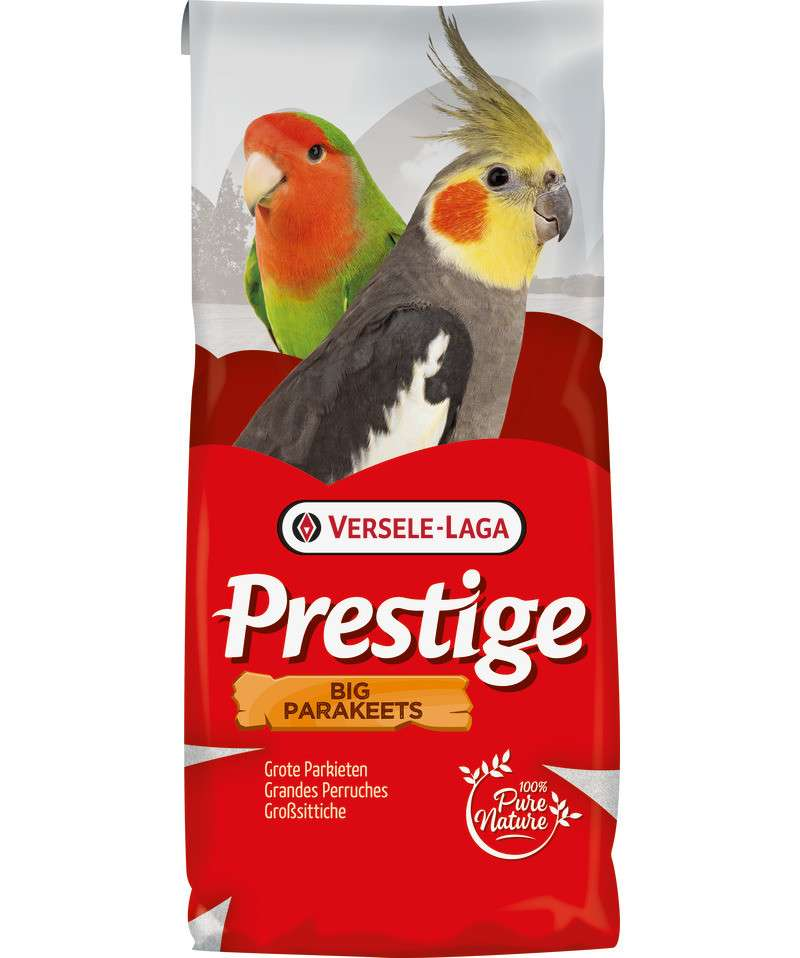 Prestige Big parakeets Krabbe by Versele Laga 20 kg buy online