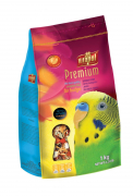 Premium Complete Food for Budgie 1 kg