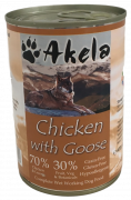 Akela Chicken with Goose 400 g