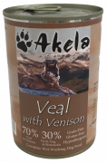 Akela Veal with Venison 400 g