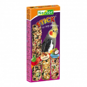 Sticks 3 in 1 Apples, Peanuts, Coconut and Bananas for Large Parakeets 175 g