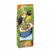 Food for Large Parakeets with Fruits and Nuts 430 g
