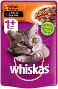 Whiskas 1+ Poultry in gravy