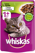 Whiskas1+ with Lamb in jelly 100 g Cat food