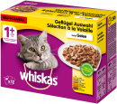 Whiskas 1+ Poultry Selection in Jelly 12x100 g