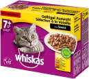 WhiskasMultipack 7+ Poultry Selection in Sauce 12x100 g Cat food