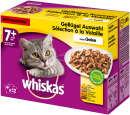 Whiskas Multipack 7+ Poultry Variation in Jelly 12x100 g