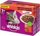 Whiskas Multipack 7+ Meaty Selection in Jelly 12x100 g