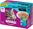 Whiskas Multipack 1+ Fish selection in sauce Art.-Nr.: 12497