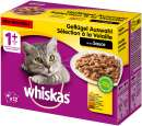 Whiskas Multipack 1+ Poultry selection in Sauce