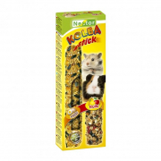 Sticks 2 in 1 for Rodents and Rabbits Eggs and Fruits 115 g