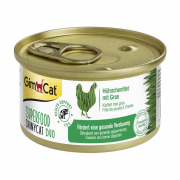 GimCat Superfood ShinyCat Duo Hühnchenfilet mit Gras 70 g