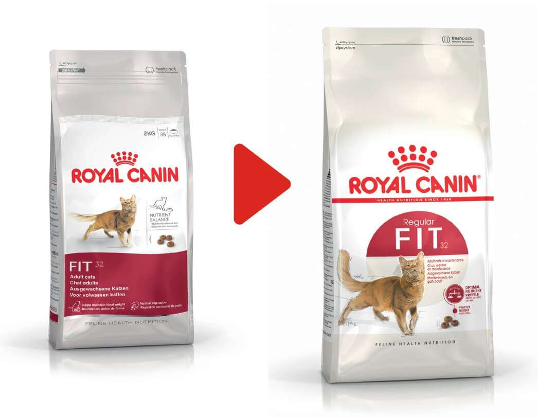 royal canin fit 32 trockenfutter f r aktive katzen 400 g. Black Bedroom Furniture Sets. Home Design Ideas