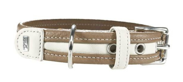 Hunter Collar Madeira Stone / White Light brown 25-32x2.8 cm buy online