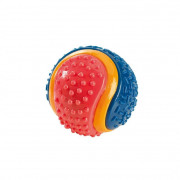 Hunter Dog toy TPR Ball, Tricolor M