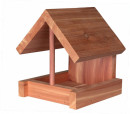 Bird Feeder, Cedarwood 16×15×13 cm