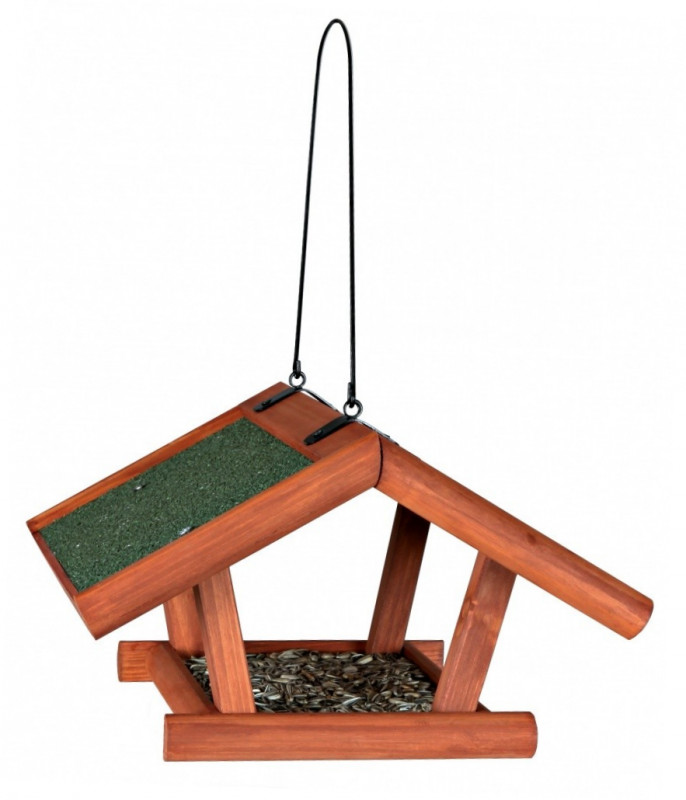 Trixie Natura Hanging Bird Feeder  Brown 30x18x28 cm order cheap