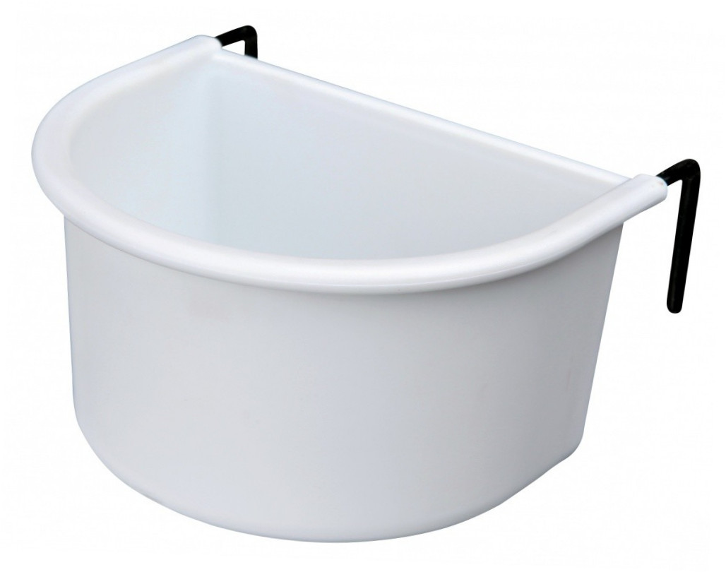 Trixie Hanging Bowl with Wire Holder, Plastic 4011905054773 kokemuksia