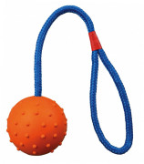 Trixie Ball on a Rope with Hand Loop ø6/30 cm