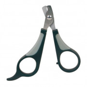 Nail Clippers, black/grey 8 cm