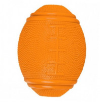 Snack-Rugbybal, natuurrubber 10 cm