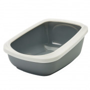 Savic Litter Tray with rim Aseo Jumbo Grey