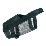Muzzle with Net Insert, black L-XL