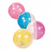 Set of Rattling Balls, Plastic 4.5 cm
