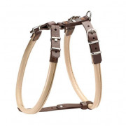 Hunter Harness Calgary Elk, Beige/Tobacco