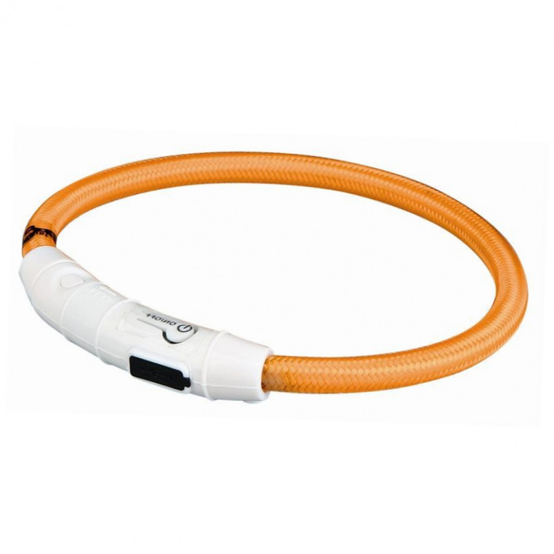 Trixie USB Flash Light Ring  Lys orange XS-S