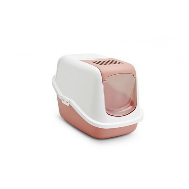 Savic Cat Litter Box - Nestor Retro  Rosa