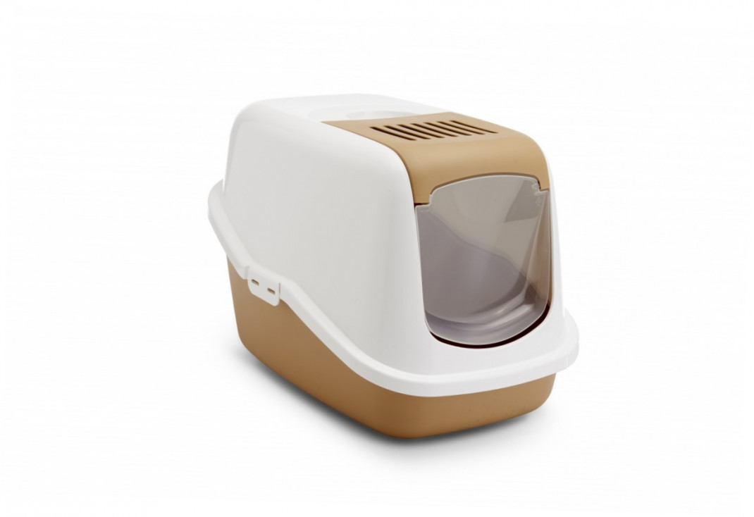 Savic Cat Litter Box - Nestor Retro Brown  buy online