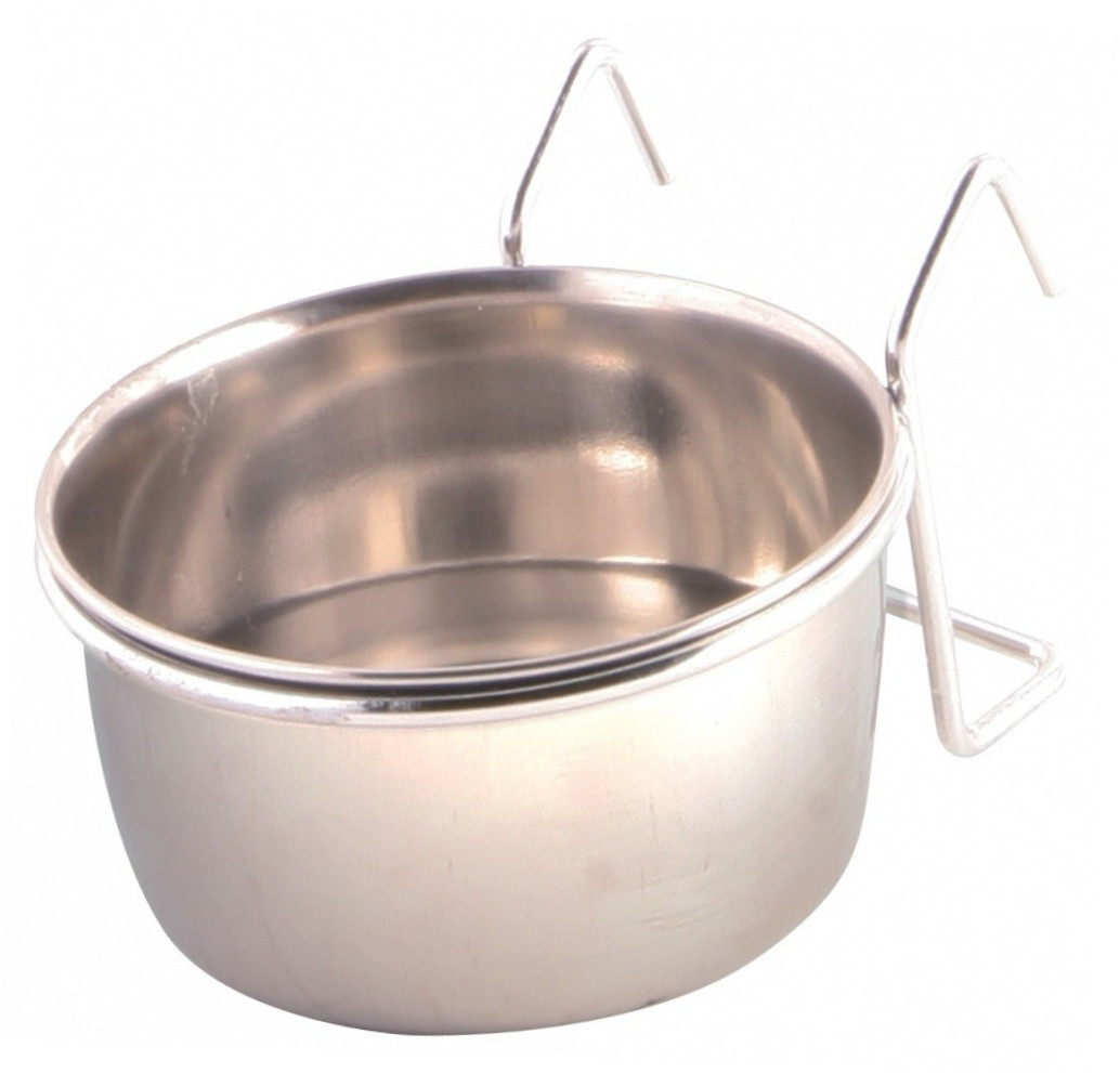 Trixie Stainless Steel Bowl with Holder  150 ml Hopea