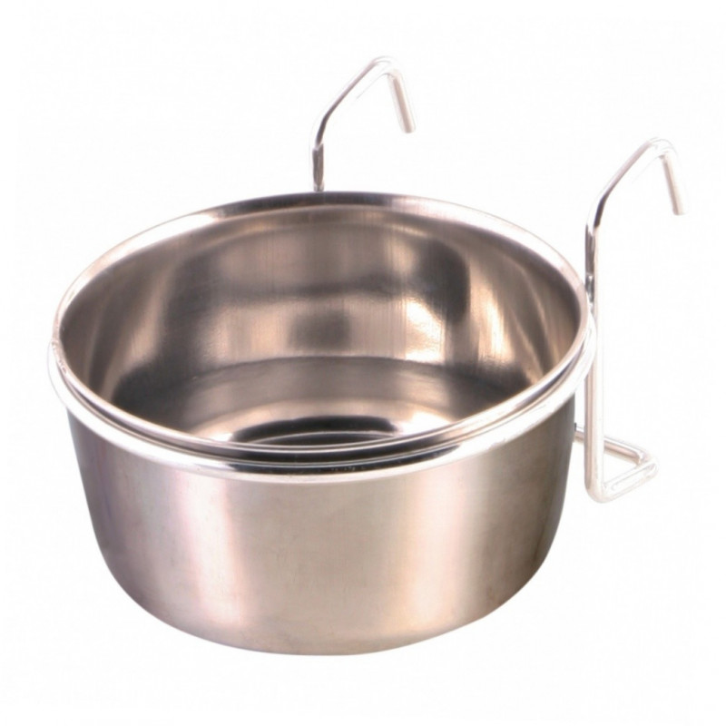 Trixie Stainless Steel Bowl with Holder  300 ml Hopea