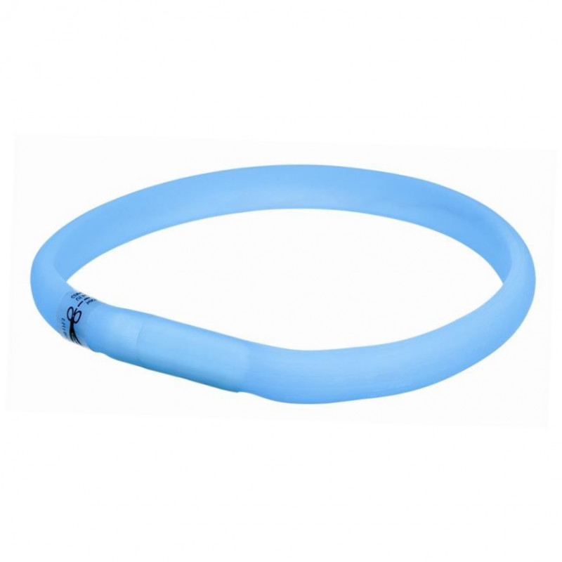 Trixie Flash Anillo USB Azul claro 50x1.8 cm
