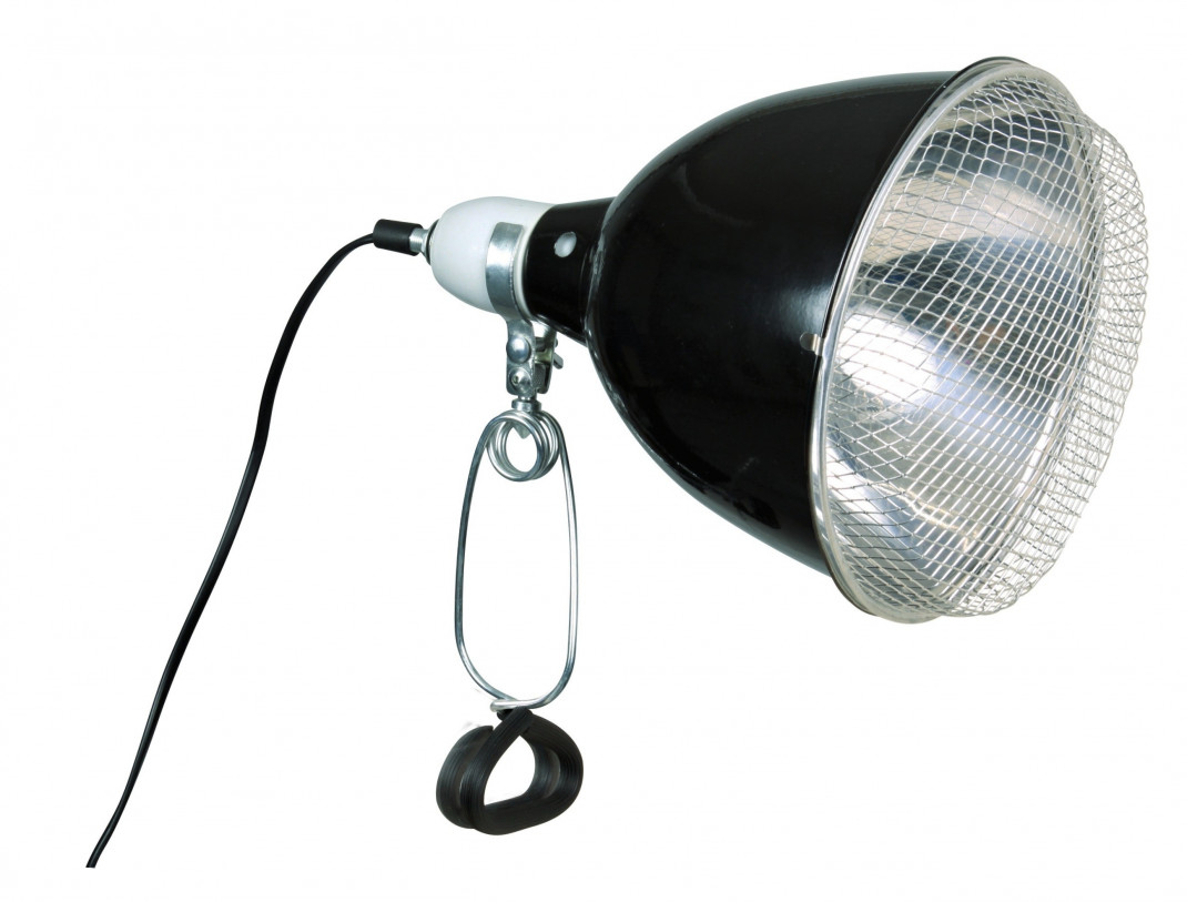 Trixie Reptiland Reflector Clamp Lamp with safety guard