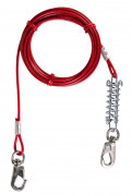 Tie Out Cable Red