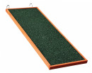 Natura Wooden Ramp for Rabbits Hutches Dark green