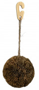 Trixie Playing and Gnawing Ball on a Jute Rope, Sea Grass 10 cm