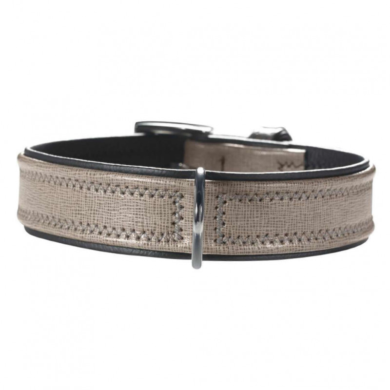 Hunter Collar Linum 46-52x3.6 cm