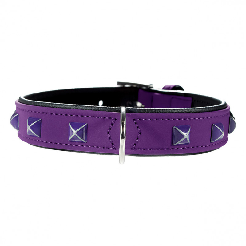 Hunter Collar Softie Kairo  Violet 32-40x2.8 cm