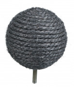 Trixie CatSelect Pallina in Sisal A 04, grigio