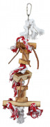 Trixie Wooden Toy on Rope 35 cm