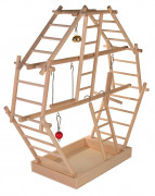 Wooden Ladder Playground 44×44×16  cm