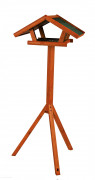 Natura Bird Feeder with Stand Brun