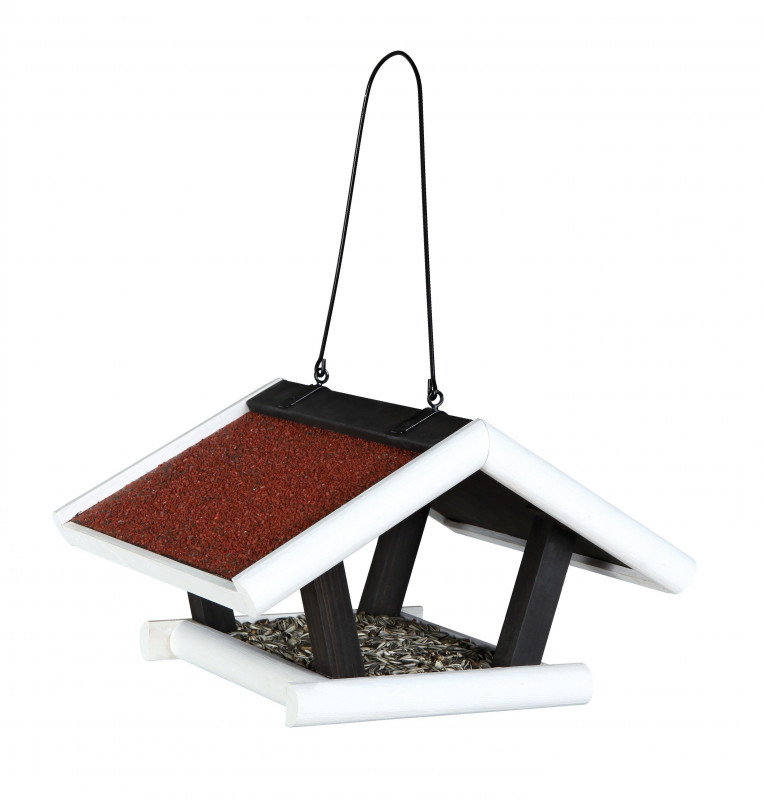 Trixie Natura Hanging Bird Feeder White 30x18x28 cm buy online